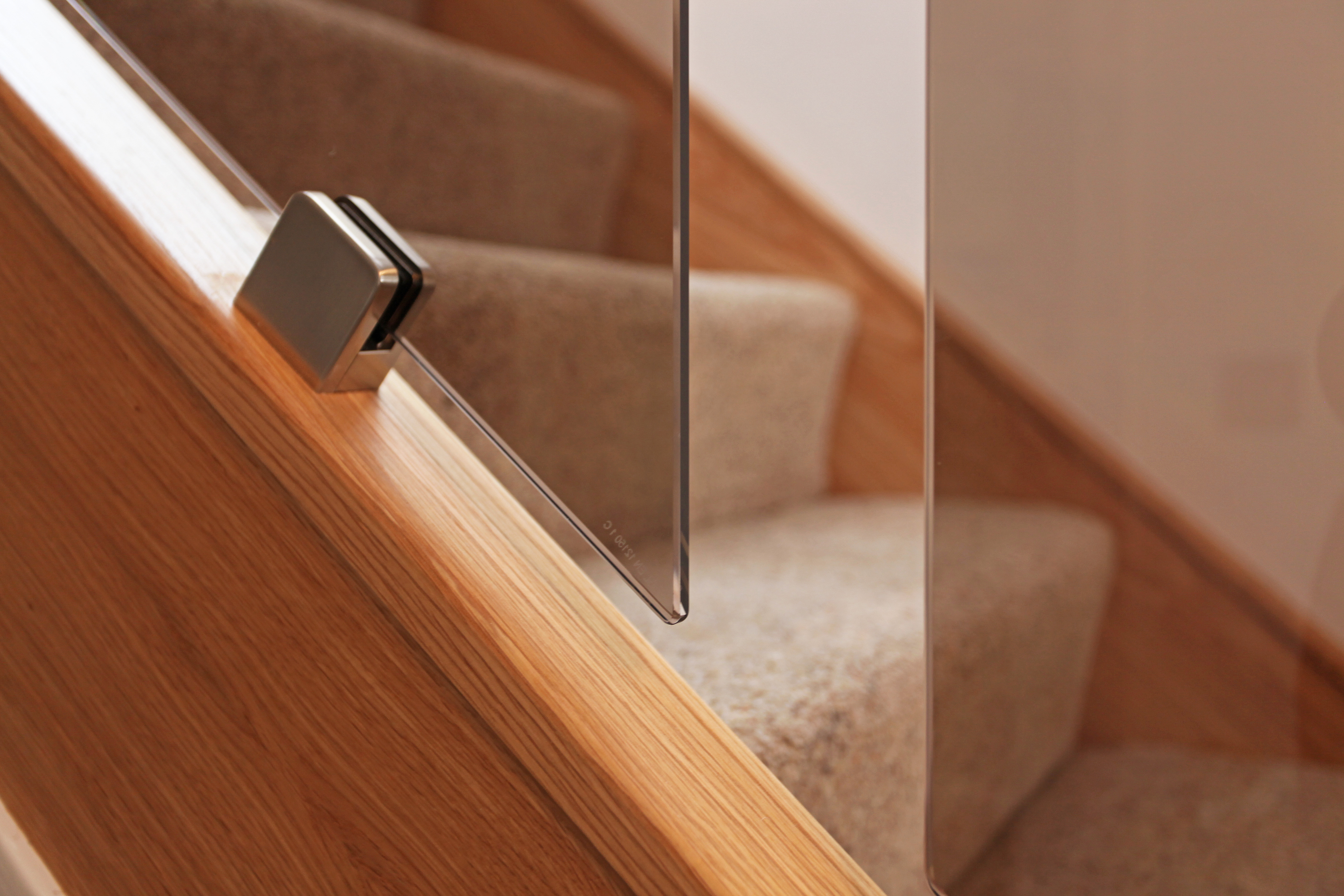 Smoked Glass Balustrade - One Stop Stair Shop